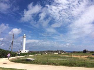 青空と白い灯台 - No.916903