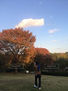 公園で撮影中 - No.873299