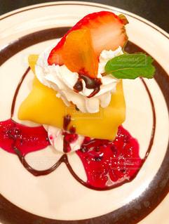 苺,クリーム,デザート,ハート,アイス,おいしい,チョコ,クレープ,ミント,金柑,洋食屋,モチモチ