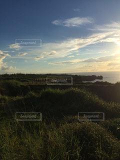 空,海岸,沖縄,眺め