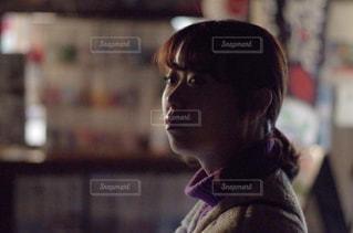 逆光シルエットの写真・画像素材[852341]