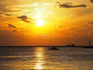夕陽の写真・画像素材[1686213]