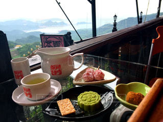 テラス,旅行,台湾,九份,烏龍茶,台湾茶,阿妹茶酒館,阿妹茶樓