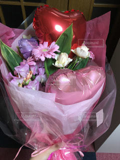 ピンクの花束の写真・画像素材[866389]