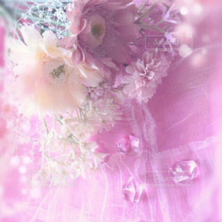花,ピンク,花束