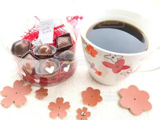 珈琲にチョコレートの写真・画像素材[946009]