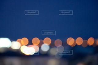 夜景の玉ボケの写真・画像素材[1069475]