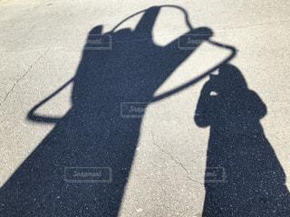 ハート,恋人岬,ハートの影