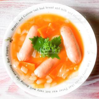 野菜スープの写真・画像素材[1145440]