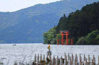 芦ノ湖の写真・画像素材[1176285]