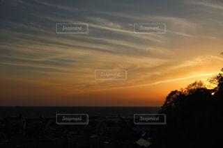 沈む夕日の写真・画像素材[1268908]