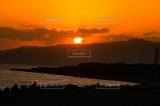 沈む夕日の写真・画像素材[1269033]