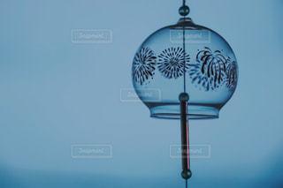 夕涼みに風鈴の写真・画像素材[1311344]