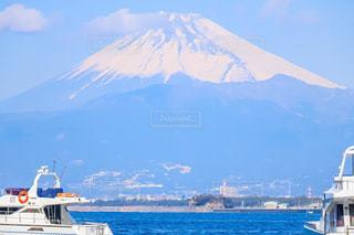 富士山と海の写真・画像素材[1399575]