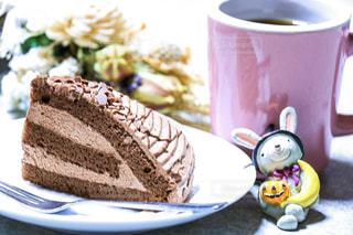ケーキ,ピンク,デザート,カップ,雑貨,チョコレートケーキ,珈琲カップ