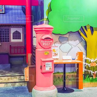 ピンク,ポスト,静岡県,静岡市,ピンクのポスト,ちびまる子ちゃんランド,清水区,ちびまる子ちゃんポスト