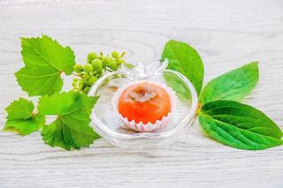 秋の和菓子の写真・画像素材[1463502]