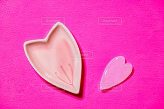 ピンク,花びら,ハート,小皿,食器,箸置き,ピンク色,桃色