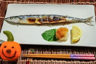 焼き魚,テーブルフォト,秋刀魚,サンマ,秋刀魚の塩焼き