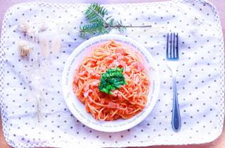 ランチ,フォーク,テーブル,ワンプレート,テーブルフォト,ナポリタン,お昼,お皿,スパゲティ,昼ごはん