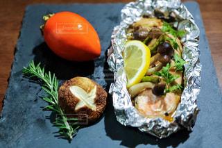 秋鮭をホイル焼きにすると、すごく美味しいです。の写真・画像素材[1640711]