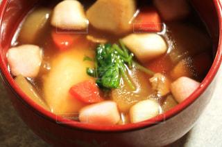 食べ物,冬,お正月,お雑煮,お昼,食べもの,昼ごはん,食物,お昼ご飯,お餅