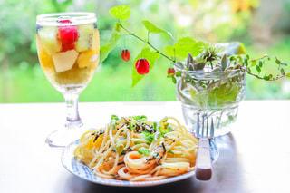 麺類,スパゲティ,タラコスパゲティ,フルーツカクテル,たらこスパゲティ