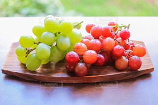 皮ごと食べられる葡萄の写真・画像素材[1764623]