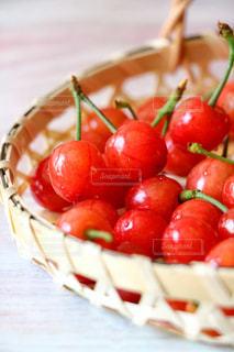 赤,フルーツ,果物,さくらんぼ,果実,甘い,新鮮,サクランボ,採りたて