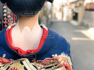 舞妓さんのうなじの写真・画像素材[1019876]