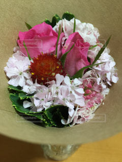 花,ピンク,花束,可愛い,ミニ,フラワーアレンジ,可憐