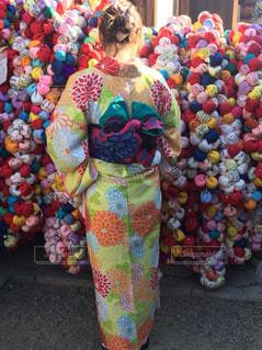 色とりどりの花のグループの写真・画像素材[1033091]