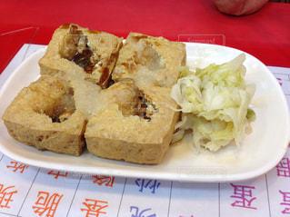 屋台,台湾,台北,士林夜市,臭豆腐