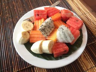 朝食,フルーツ,東南アジア