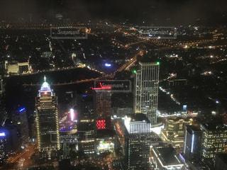 夜の街の景色の写真・画像素材[924992]