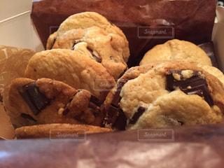 チョコクッキーの写真・画像素材[839706]