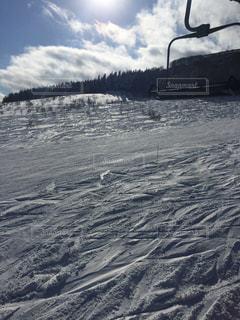 近くに雪の斜面をカバー - No.958122