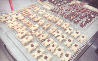 くまさん クッキー 手作り お菓子の写真・画像素材[839950]