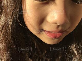 小さな口の写真・画像素材[864738]