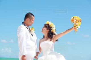 ウェディング ドレスの人の写真・画像素材[888547]