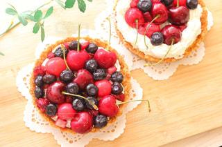 ケーキのフルーツ プレートを - No.841861