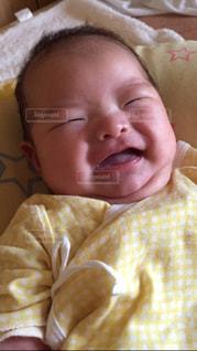 笑顔の赤ちゃん。の写真・画像素材[843043]