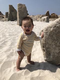 海,観光,旅行,笑顔,赤ちゃん,和歌山,笑,白浜