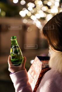 ペリエと冬の街の写真・画像素材[914511]