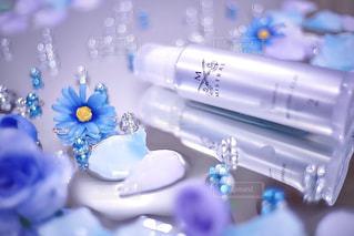 青と白のケーキ - No.962085