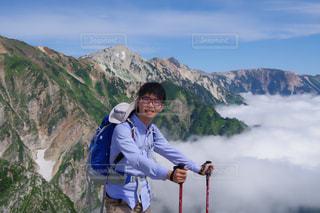 雲上の旅の写真・画像素材[845324]