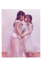 ドレス姿の美少女姉妹♡の写真・画像素材[873678]