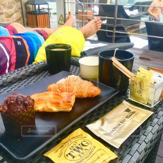 朝食,シンガポール,紅茶,プールサイド,マリーナベイサンズ,インフィニティプール,TWG