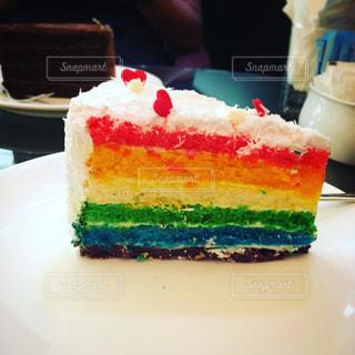 カフェ,ケーキ,レインボー,デザート,シンガポール,マリーナベイサンズ