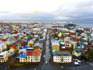 アイスランドの街並み🇮🇸の写真・画像素材[2384646]